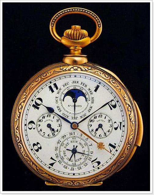 Карманные часы 18 века