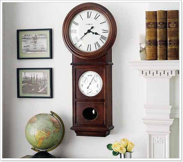 механические часы с маятником