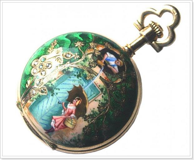 Карманные часы серебро 18 век цена