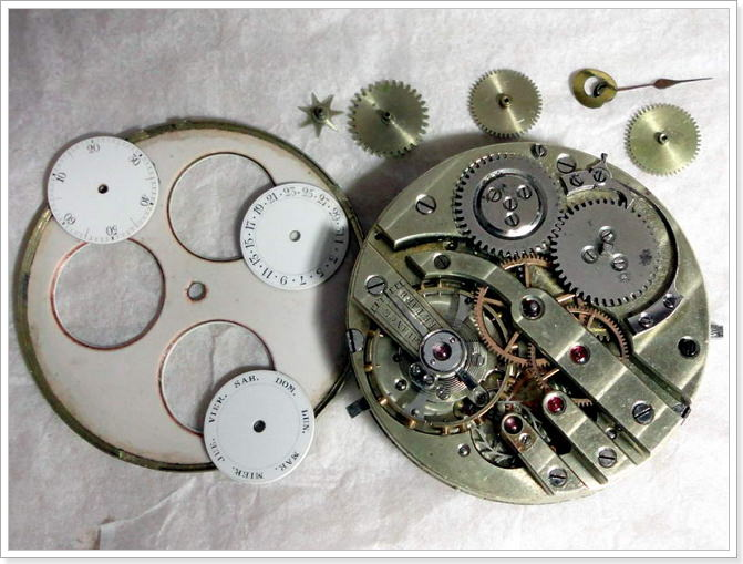 Часы 18 века