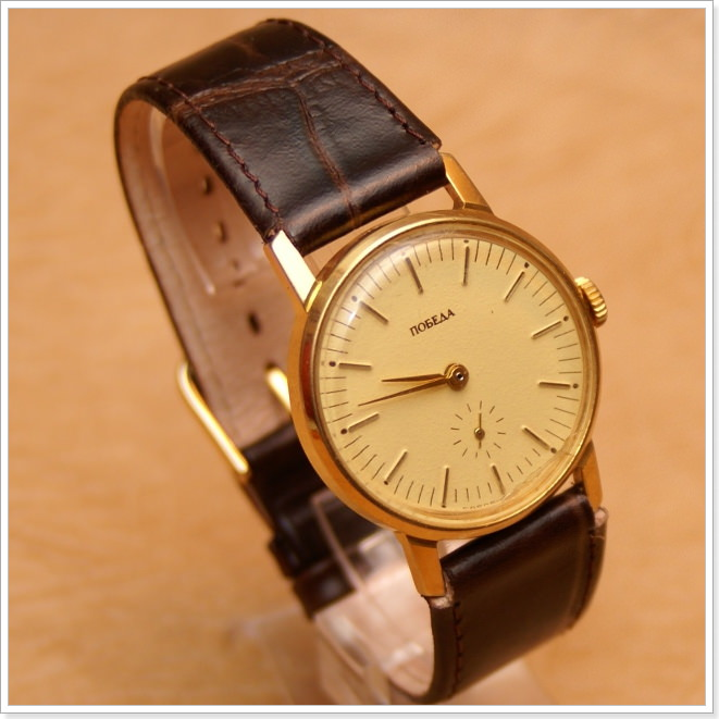 Наручные часы сделанные в СССР