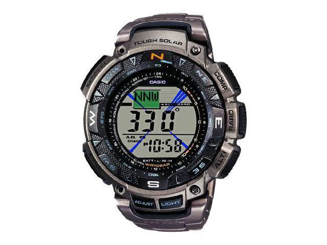 Мужские наручные электронные часы из пластика