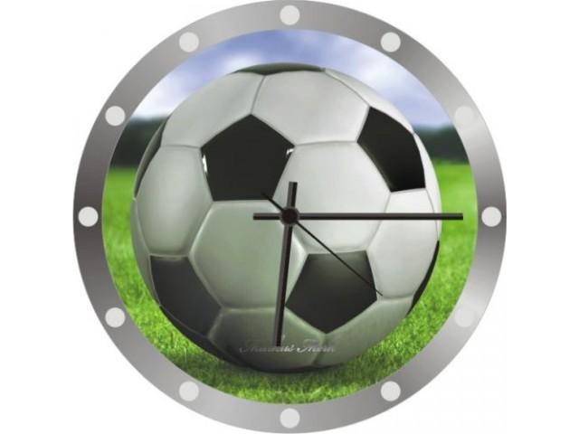 Часы с мячом