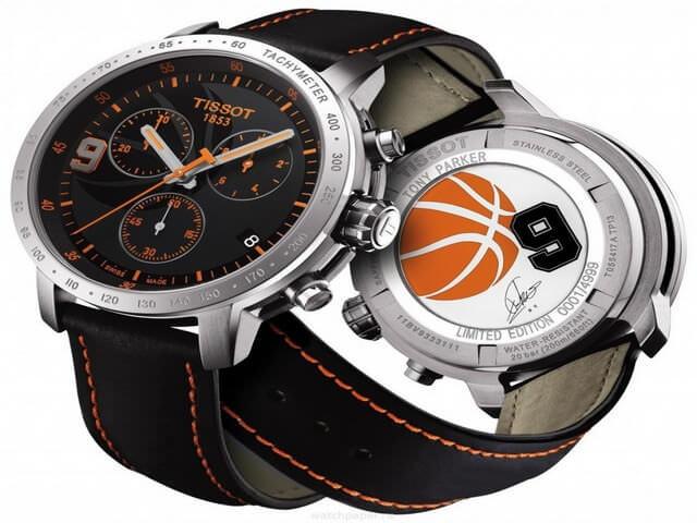 Часы с баскетбольной эмблемой