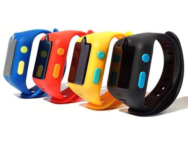 Цветные детские часы