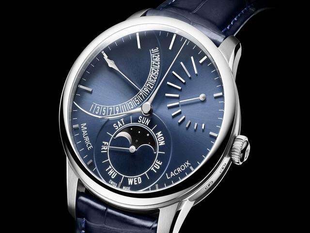 Часы с лунным календарем и датой