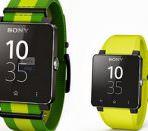 Часы Sony со стильным ремешком