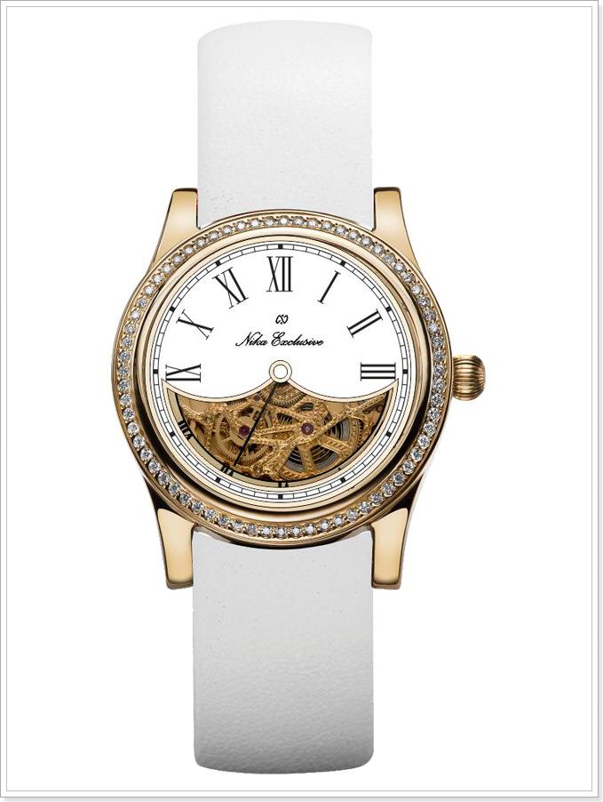 Часы из коллекций WHITE, желтое золото 750° и бриллианты, 68 шт., 0,62 карат e6724dbc45c