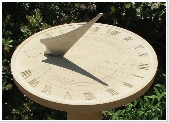 Как сделать солнечные часы своими руками 900